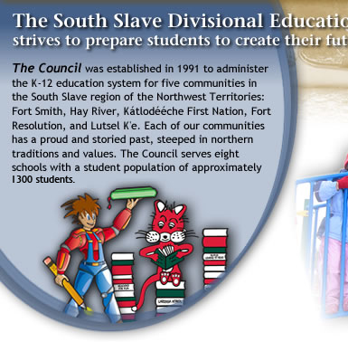 South Slave Divisional Education Council Home Page Inage - Left